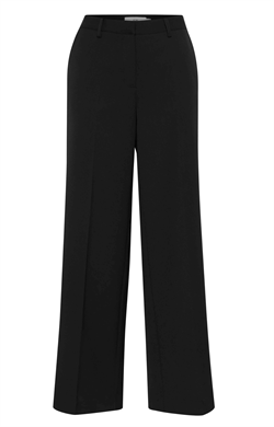 ICHI Bukser - IXLEXI WIDE PANTS, Black