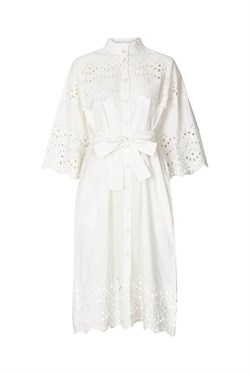 Lollys Laundry Kjole - Tumi Dress, White