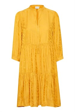 Gestuz Kjole - VanayaGZ Dress, Golden Yellow