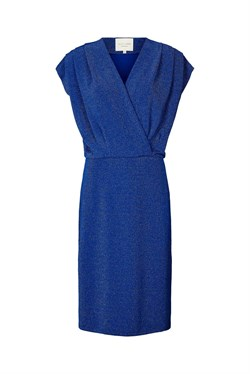 Lollys Laundry Kjole - Victoria dress, Blue