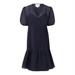 Second Female Kjole - Vilda Dress, Navy