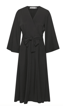 Inwear kjole - VoxIW Wrap Dress, Black