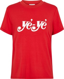 Just Female T-shirt - Ye ye tee, Ribbon Red