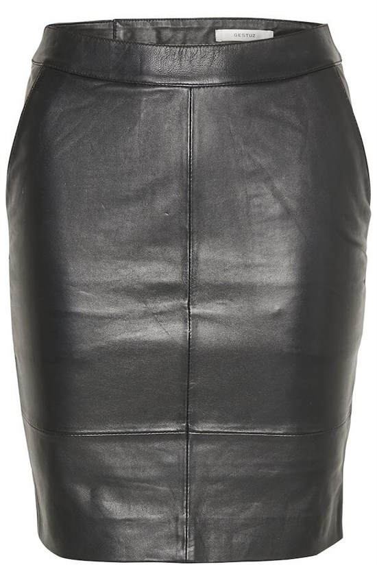 Gestz Nederdel - CharGZ mini skirt, Black