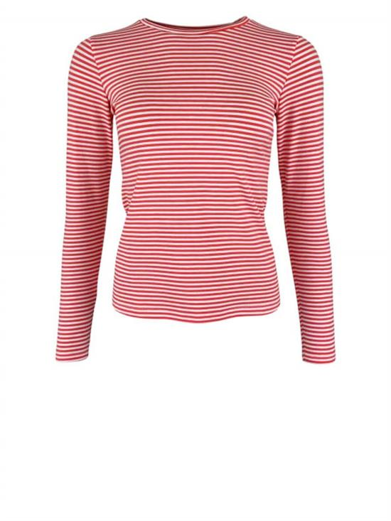 Black Colour Bluse - Polly BLOUSE, Coral