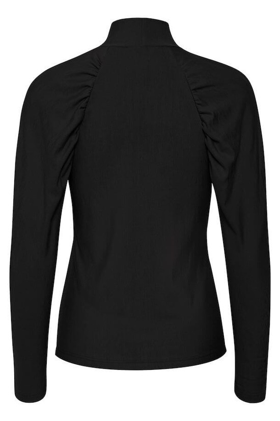 Gestuz Bluse - RifaGZ Turtleneck, Black