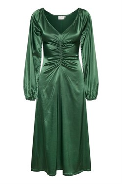 Gestuz Kjole - TikkiGZ dress, Deep Green