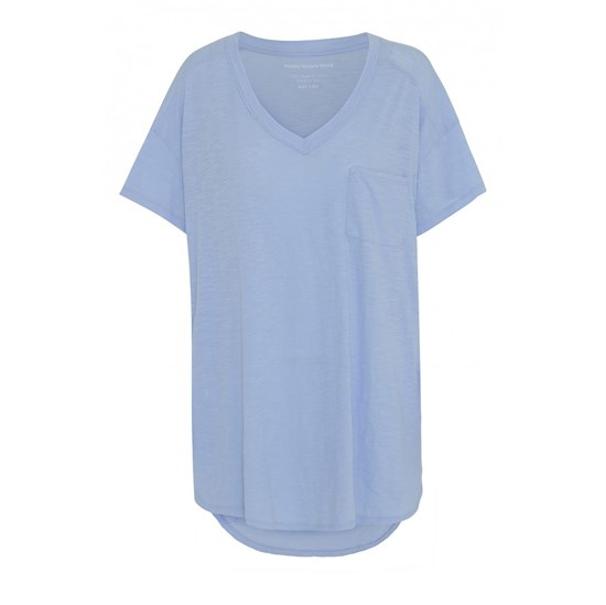 Moshi Moshi Mind Bluse - Dreamy T-shirt, Light Blue