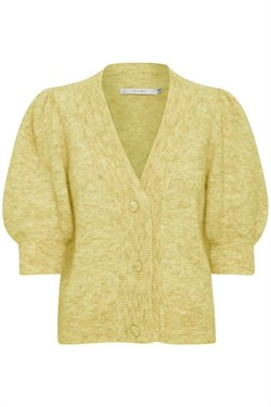 Gestuz Cardigan - DebbieGZ Puff cardigan, Dried Moss