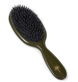 Fan Palm Hårbørste - Hair Brush Medium, Army
