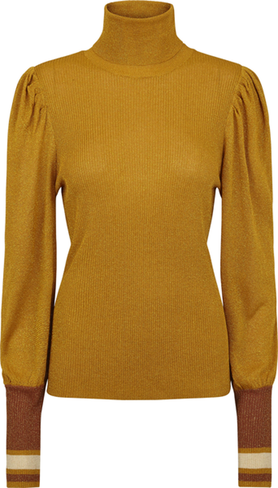 Just Female strik - Pierre Knit, Gold Yellow