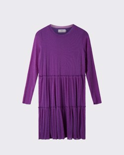 Moves By Minimum Kjole - Huma Dress, Grape Juice