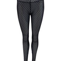Black Colour Leggins, Annie Leggins, Black Dots