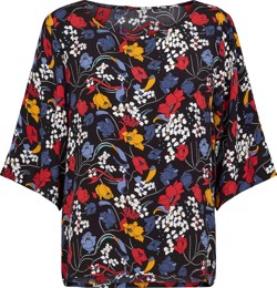 Just Female Bluse - Ines Tee, Flower Party