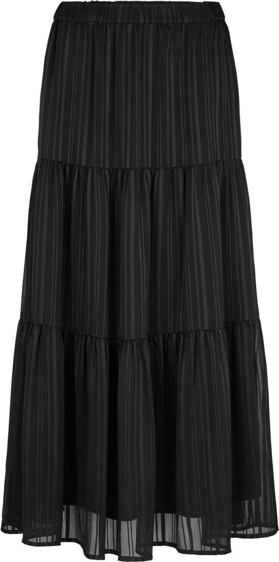 Second Female Nederdel - Janny Midi Skirt, Black
