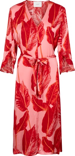 Just Female kjole - Laurie Dress, Leaves AOP