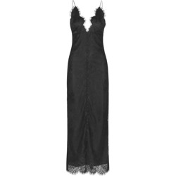 NOTES DU NORD Kjole - Leela Slip dress, Black