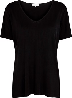 Second Female T-shirt - Mango Tee, Black