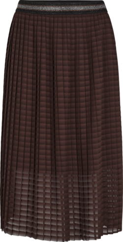 Second Female Nederdel - Mariel Skirt, Chocolate Plum