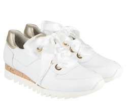 Paul Green sneakers - 4591-032, Calf/Cervo white/Oro
