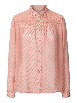 Lollys Laundry skjorte - Allison shirt, Pink