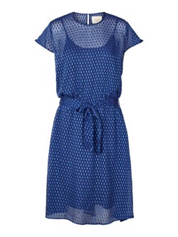 Lollys Laundry Kjole - Tonga Dress, Blue