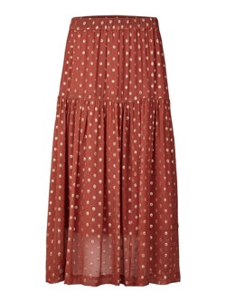 Lollys Laundry Nederdel - Cokko Skirt, Rust
