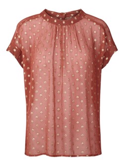 Lollys Laundry Bluse - Deva Top, Rust