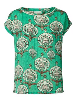 Lollys Laundry Bluse - Krystal Top, Green
