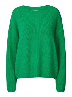 Lollys Laundry strik - Gaby Angora Knit, Green