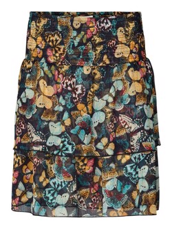 Lollys Laundry Nederdel - Magda Skirt, Dark Navy