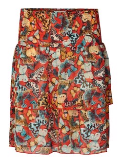 Lollys Laundry Nederdel - Magda Skirt, Red