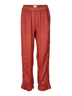 Lollys Laundry bukser - Gipsy pants, Red small Feather