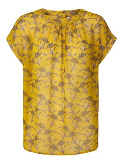 Lollys Laundry Bluse - Deva Top, Yellow