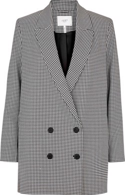 Just Female Jakke - Amalie Blazer, Houndstooth Pattern