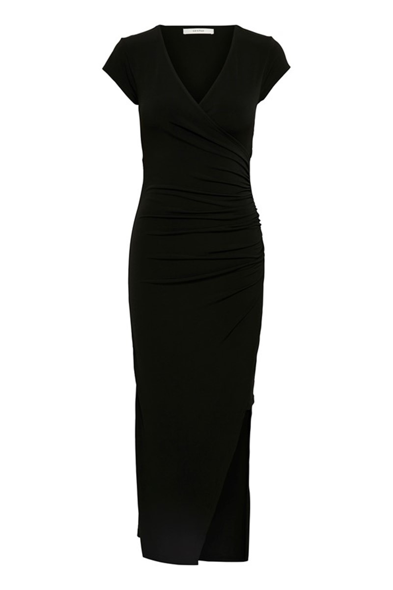 34ce55df Gestuz Kjole - Sabrina Dress, Black