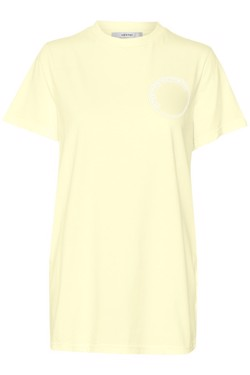 Gestuz T-shirt - Bowi oz Top MS18, Yellow Pear