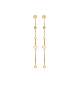 Pernille Corydon Øreringe - Mini Coin Earrings, Gold plated