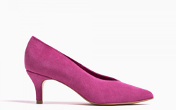 Anonymous Copenhagen Pumps - Vilia suede, Fuchsia