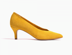 Anonymous Copenhagen Pumps - Vilia suede, Yellow