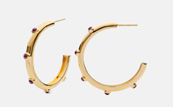 Maanesten Øreringe - Daya Hoops Earrings, Gold