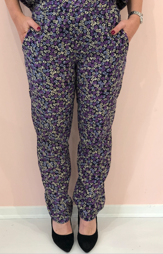 Nué Notes Bukser - Lilly Pants - Total Eclipse 44