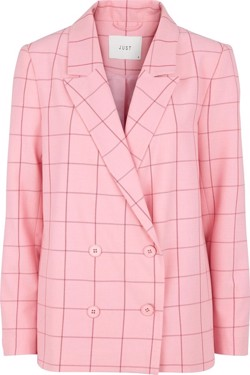 Just Female Jakke - Valeria Blazer, Rose Check