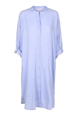 Moshi Moshi Mind Kjole - Remain Shirt Dress Chambray, Light Blue
