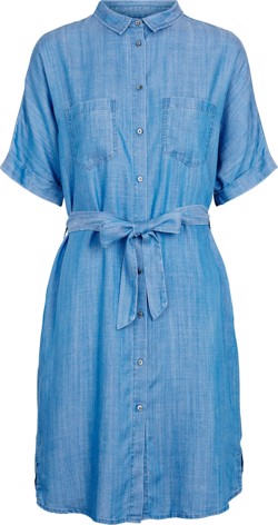 Second Female Kjole - Sabba Shirt Dress, Blue Denim