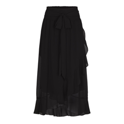 Second Female nederdel- Lymia Skirt, Black