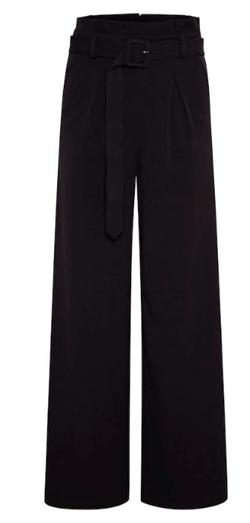Gestuz bukser - LenoraGZ pants, Black