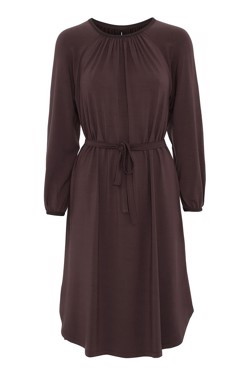 Moshi Moshi Mind Dress- Space Dress, French Brown
