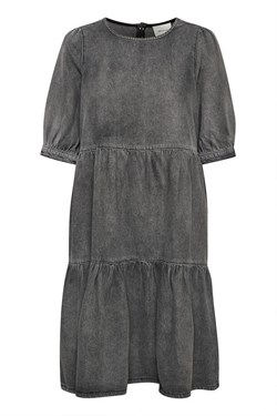 Gestuz Kjole - SammiGZ Dress, Washed Black